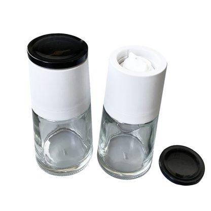 moulin a sel vide blanc